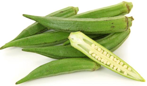 Бамия - экзотический овощ гибискус
