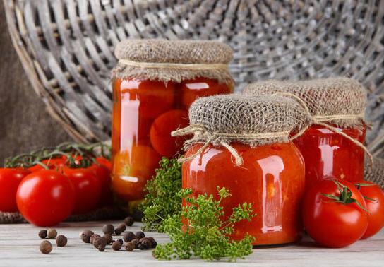 Способы заготовления помидор