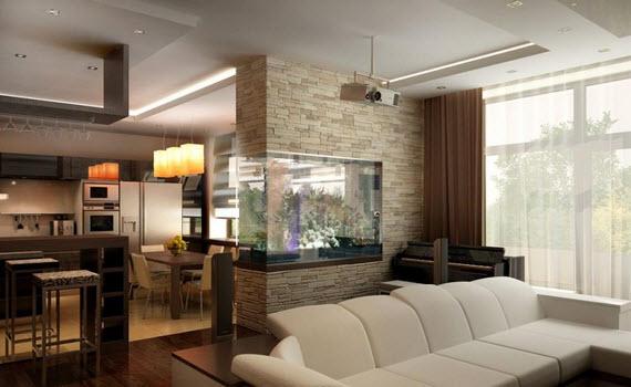 Актуальный дизайн и ремонт гостинных-студий