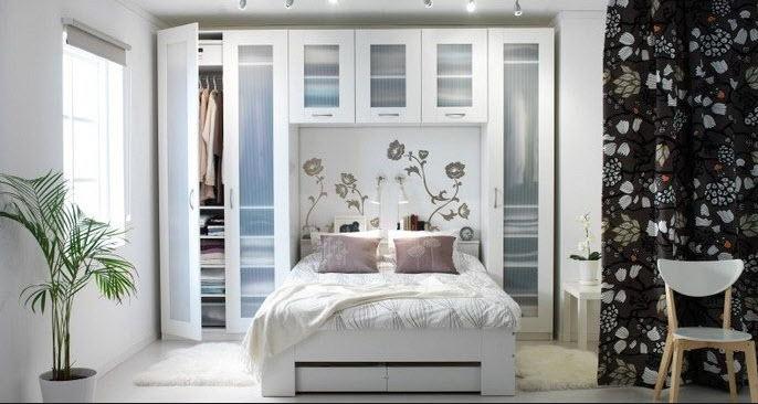 В тесноте, да не в обиде или интерьер спален 10, 14 или 15 кв.м