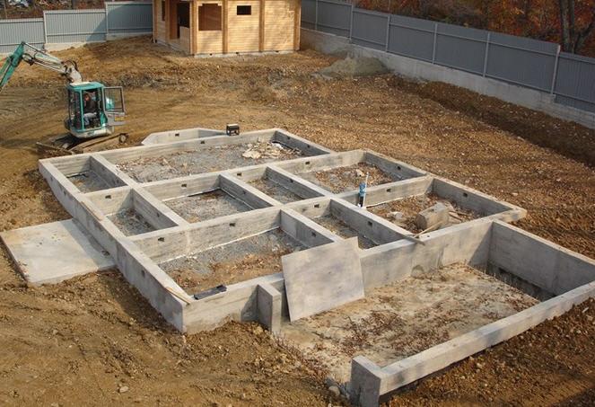 Этапы  строительства дома, коттеджа