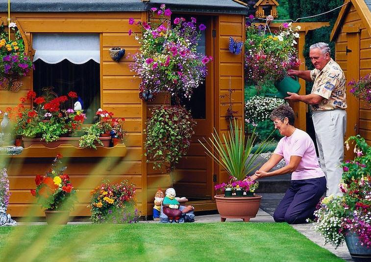 Как оформить сад и огород