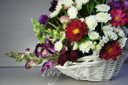 Доставка цветов от студии TORY ART