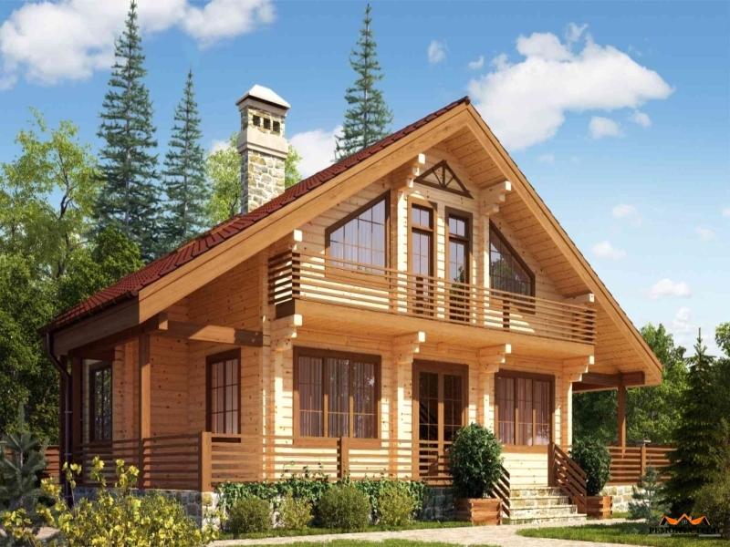 Выбор материала для постройки дома – клееный брус