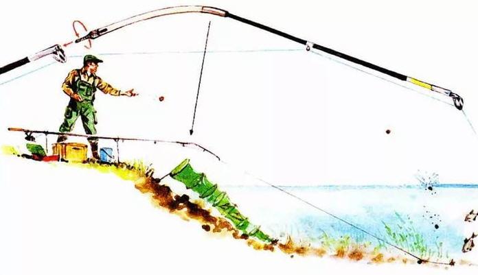 кивок на удочку для ловли с лодки