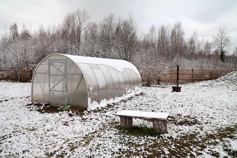 Чем заняться на огороде в декабре