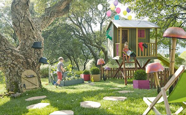 место обустройства детской площадк