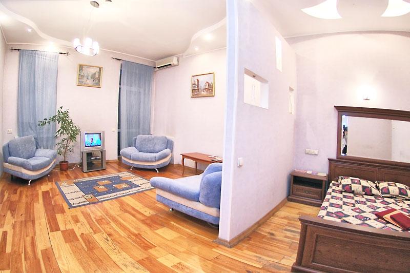 Квартира в одной большой комнате