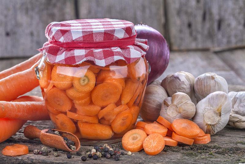 Морковь соленая на зиму