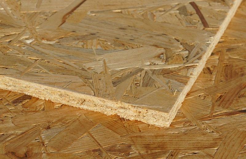 Материалы для отделки покрытия из ориентированно-стружечных плит