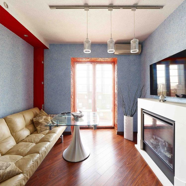 дизайн комнаты с жидкими обоями силк пластер