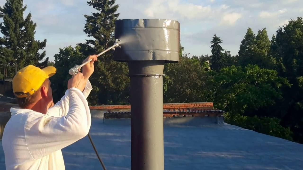 Особенности применения жидкой резины для гидроизоляции труб