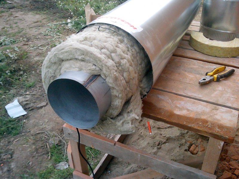 Теплоизоляция трубопровода, работы по теплоизоляции труб минватой