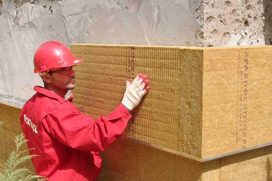 Технология утепление фасада