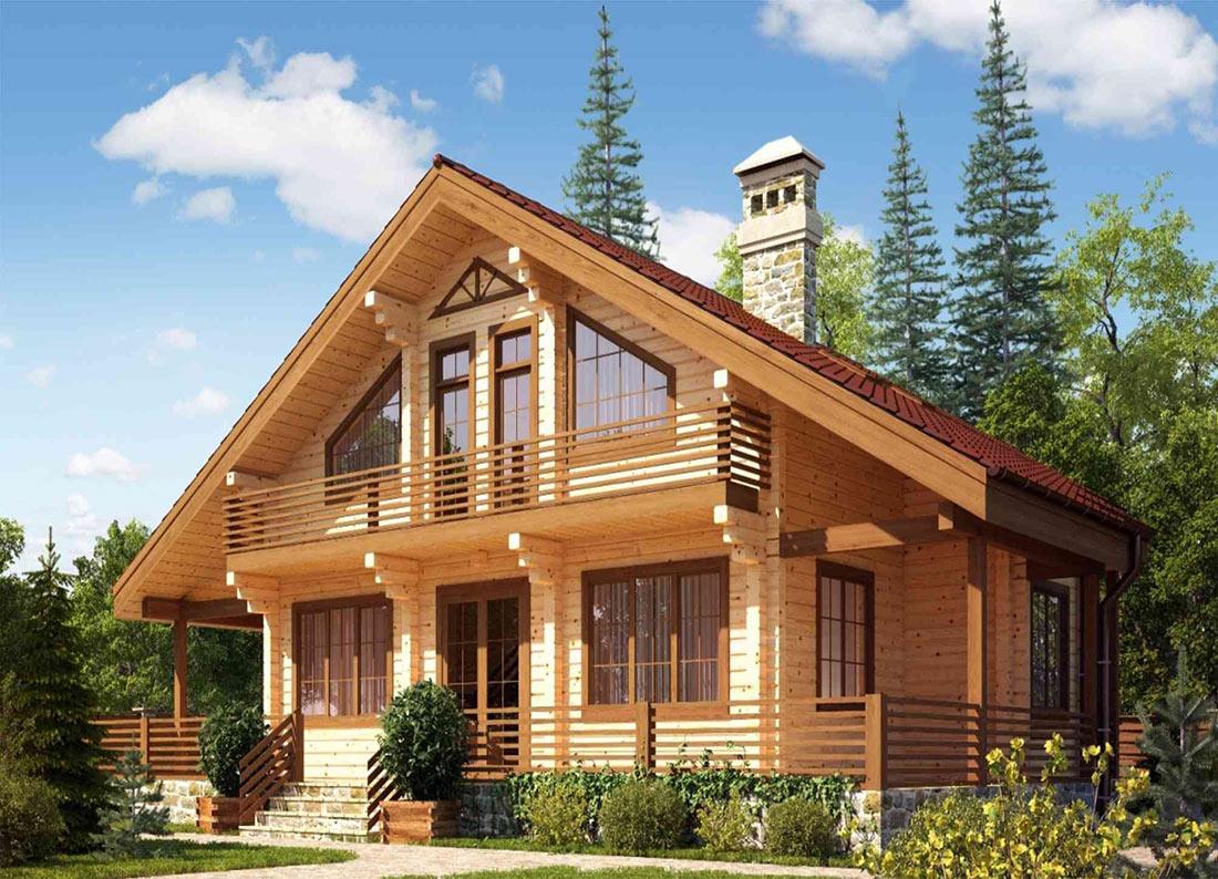 Из какого дерева дом построить
