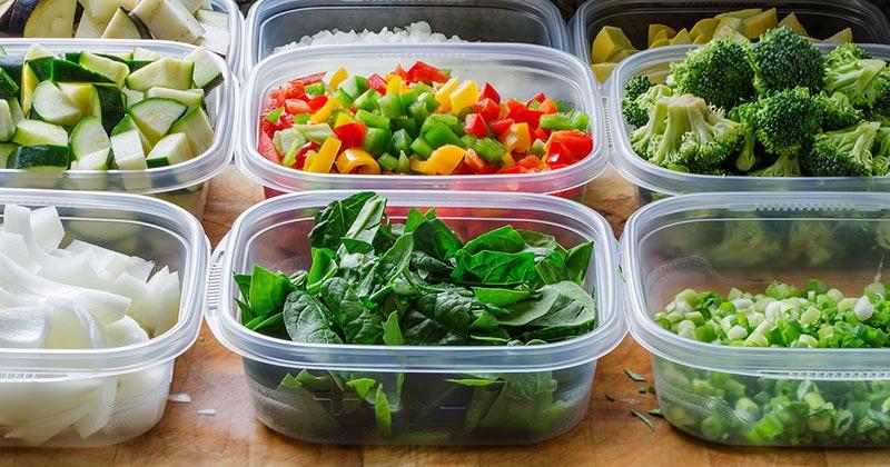 Правильное хранение салатов