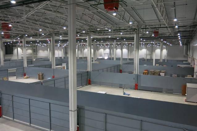 Аренда холодильных и морозильных складов в ОРЦ «Четыре сезона»