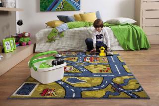 Какой должен быть материал ковра в детскую комнату?