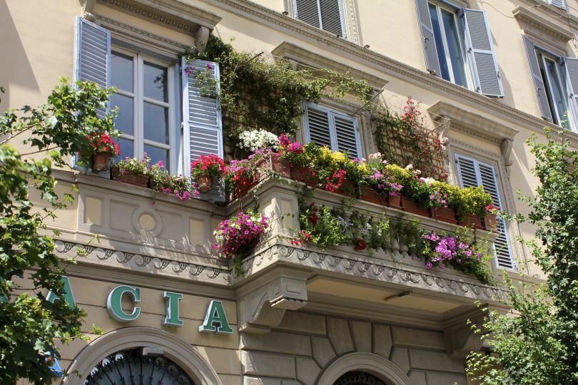 Как превратить скучный балкон в цветущий оазис