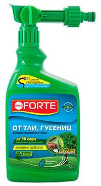 средство от тли и гусениц «Бона Форте»