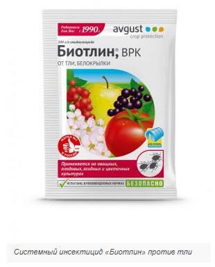 Системный инсектицид «Биотлин» против тли